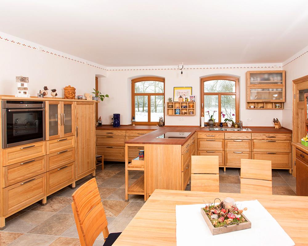 küche - esche und kirschbaum in moderner eleganz - tischlerei ... - Esche Küche
