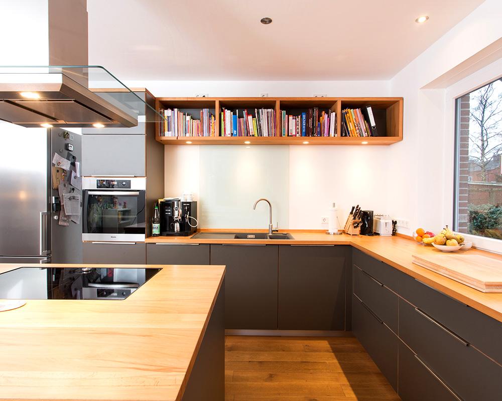 Küche Grau  Jtleigh.com - Hausgestaltung Ideen